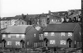 Clearance of bad housing, in the background, and in the foreground, newly built Council Housing in a priority area of Liverpool by the Labour City Council as part of its overtly Socialist policy, whic... - John Harris - 06-12-1985