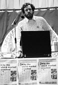 Jeremy Corbyn MP speaking, Socialist Society Conference, Chesterfield 1987 - John Harris - , Socialist Campaign Group,1980s,1987,Conference,conferences,crash,Jeremy Corbyn,Labour Party,Left,left wing,leftwing,MP,MPs,POL,political,politician,politicians,politics,Socialist,socialists,SPEAKER,