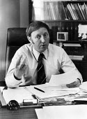 Arthur Scargill in the Barnsley office of the NUM, probably after 1973 which was when he was elected as Area President of the Yorkshire NUM.~.... - John Sturrock - 1970s,1973,Arthur Scargill,member,member members,members,NUM,people,President,Socialist,SOCIALISTS,trade union,trade union,Trade Unions,Trades Union,Trades Union,Trades unions,worker,workers,Yorkshire