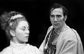 Pete Postlethwaite in Corialanus by Bertolt Brecht, adapted from Shakespeare, Everyman Theatre, Liverpool, 1975. This was the British premiere of the play as staged in English; the only other producti... - John Sturrock - 16-04-1975