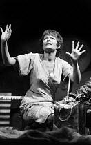 Janet Suzman in The Good Woman Of Setzuan by Bertolt Brecht, Royal Court Theatre, London, 1977. - John Sturrock - 05-10-1977