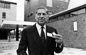 Writer, Arthur Koestler, Cambridge, 1965 - Malcolm Aird - 1960s,1965,ACE,arts,author,authors,cigarette,CIGARETTES,culture,Koestler.,male,man,men,nicotine,people,person,persons,SMOKE,SMOKER,SMOKERS,smoking,writer,writers