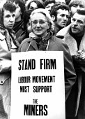 Protest in support of the NUM, London, 1972 - MIke Tull - 06-02-1972