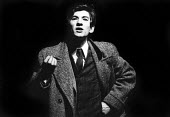 Ian McKellen, acting in Their Very Own, play by Arnold Wesker, Royal Court Theatre, London, 1966 - Patrick Eagar - 18-05-1966
