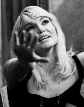 Diane Cilento in Marya by Isaac Babel, Royal Court Theatre, London, 1967. - Patrick Eagar - 19-10-1967