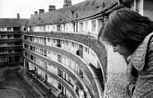 Council housing estate, Kirkby, Liverpool, 1973 - Peter Harrap - 03-09-1973