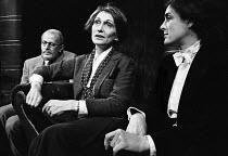 A Nightingale In Bloomsbury Square, Hampstead Theatre, London, 1973.  Richard Wilson, Sian Phillips and Eleanor Bron. - Peter Harrap - 17-09-1973