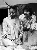 The Black & White Minstrels by C P Taylor, Hampstead Theatre, London, 1973. Tom Conti. - Peter Harrap - 21-01-1973
