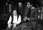 The Banana Box, Hampstead Theatre, London, 1973. The play was later turned into Rising Damp, a highly successful ITV comedy starring many of the original cast from this theatre production. Leonard Ros... - Peter Harrap - 1970s,1973,ACE,act,acting,actor,actors,arts,BAME,BAMEs,Banana,BANANAS,black,BME,bmes,Box,boxes,cities,city,comedy,cultural,culture,Damp,diversity,Don,drama,DRAMATIC,entertainment,ethnic,ethnicity,ITV,