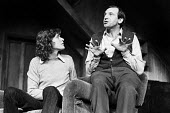 The Banana Box, Hampstead Theatre, London, 1973. The play was later turned into Rising Damp, a highly successful ITV comedy starring many of the original cast from this theatre production. Former Manf... - Peter Harrap - 1970s,1973,ACE,act,acting,actor,actors,arts,BAME,BAMEs,Banana,BANANAS,black,BME,bmes,Box,boxes,cities,city,comedy,cultural,culture,Damp,diversity,drama,DRAMATIC,entertainment,ethnic,ethnicity,ITV,Jone