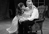 A Patriot For Me by John Osbourne, Watford Palace Theatre, 1973. Marianne Faithfull as Countess Sophia and Michael Byrne as Colonel Redl. - Peter Harrap - 1970s,1973,ACE,act,acting,actor,actors,actress,actresses,arts,culture,drama,DRAMATIC,entertainment,FEMALE,maker,makers,making,male,man,men,people,performance,performer,performers,performing,person,per