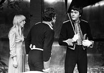 Simon Callow (L) Richard Beckinsale, Mrs. Grabowski's Academy by John Antrobus, Royal Court Theatre Upstairs, London, 1974 - Peter Harrap - 05-02-1974