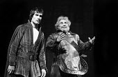 Timothy Dalton and Paul Hardwick, Henry IV, Roundhouse Theatre, London, 1974 - Peter Harrap - 03-09-1974