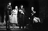 A Scent Of Flowers by Jim Saunders staged at the Duke of Yorks Theatre in London in 1964, with Ian McKellen & Jennifer Hilary, on left, in the lead roles. - Romano Cagnoni - 30-09-1964