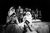 Love's Labour Lost staged by the RSC in Stratford upon Avon in 1965. - Romano Cagnoni - 24-03-1965