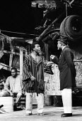 The Road by Wole Soyinka staged at the Mermaid Theatre in London in 1965. - Romano Cagnoni - 13-09-1965