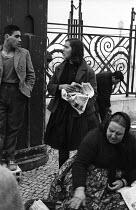 Street scene, Lisbon, Portugal, 1968. - Romano Cagnoni - 06-03-1968
