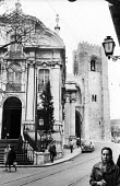 Santo Antonio Church and The belltower of the Se Cathedral, Lisbon, Portugal, 1968 - Romano Cagnoni - 06-03-1968