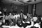 Party organised by trade union members of the London print branches of SOGAT for the children of striking miners from the Betteshanger & Tilmanstone collieries in Kent as Christmas approached, nine mo... - Stefano Cagnoni - 14-12-1984