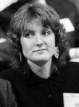 Harriet Harman MP, Labour Party Conference, Blackpoool, 1987 - Stefano Cagnoni - 01-10-1987