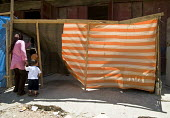 Temporary housing at Nahr al-Bared Palestinian refugee camp, Lebanon - Ron Coelle - 12-06-2008