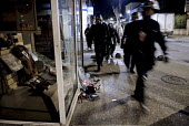 Looted shops. Riots after the death of two young people killed in a collision with police car and their motorbike, Villiers le Bel, France - Sebastien ORTOLA - 26-11-2007