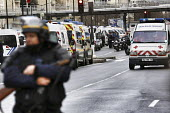 Armed CRS police units on the streets of Paris - Denis Allard - 09-01-2015