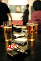 Women's Darts Woodford Ladies Team play the Waltham Forest Ladies London - Rogan Macdonald - 2000s,2006,ADDICTION,ADDICTIVE,alcoholic,ALCOHOLICS,ALCOHOLISM,beer,beers,beverage,beverages,card,Card Game,cards,case,cases,cities,city,COMPETITATIVE,competition,competitions,Cross,Dart,dartboard,dar