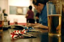 Women's Darts Woodford Ladies Team play the Waltham Forest Ladies London - Rogan Macdonald - 2000s,2006,ADDICTION,ADDICTIVE,alcoholic,ALCOHOLICS,ALCOHOLISM,beer,beers,beverage,beverages,cities,city,COMPETITATIVE,competition,competitions,Cross,Dart,Darts,drink,drinking,drinks,female,females,fl