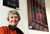 Anne Owers, Head of HM Inspectorate of Prisons. Based in Inspectorates offices, London. - Rogan Macdonald - ,2000s,2006,CBE,Chief,Chiefs,CLJ crime law justice,EMOTION,EMOTIONAL,EMOTIONS,expert,experts,female,females,head,Her,HM,HMI,Home,Human Rights,INSPECTING,INSPECTION,Inspector,Inspectorate,Inspectorates