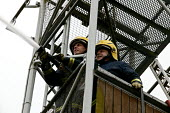 Firefighters training at Bewdley Fire Satation - Roy Peters - 03-05-2005