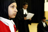 A moot or mock court in A level Law at Joseph Chamberlain Sixth Form College. - Roy Peters - 2010s,2011,6th form,activity,adolescence,adolescent,adolescents,asian,asians,BAME,BAMEs,black,BME,bmes,bow-tie,bow-ties,boy,boys,child,CHILDHOOD,children,cities,city,college,COLLEGES,court,diversity,d