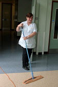 Hospital cleaners Hospital Birmingham - Roy Peters - 05-10-2003