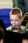 Pupils playing, Sandwell Youth Music Service. - Roy Peters - 13-03-2004