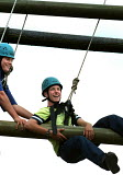 Outward bound course, a project funded by the New Opportunities Fund (now Big Lottery Fund), Mansfield, Notts. - Roy Peters - 29-07-2001