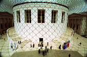 The Great Court in the British Museum - Stefano Cagnoni - 2000s,2002,ACE,ACE culture,architecture,arts,attraction,buildings,circular,cities,city,Court,culture,figures,heritage,holiday,holiday maker,holiday makers,holidaymaker,holidaymakers,holidays,light,Mus