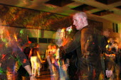 Dancing to disco music at a social function - Stefano Cagnoni - 25-09-2003