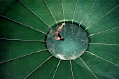 Child on a cyclone ride in a huge swimming complex at Duinrell, near Wassenar in Holland - Stefano Cagnoni - 2000s,2003,centre,circle,costume,down,downwards,dutch,enjoying,enjoyment,eu,Europe,european,europeans,eurozone,EXERCISE,exercises,fall,falling,feeling,female,females,fun,girl,GIRLS,holiday,holiday mak