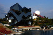 Futuroscope theme park near Poitiers in France - Stefano Cagnoni - 2000s,2004,ACE,ACE arts culture & entertainment,architecture,arts,attraction,buildings,cubist,culture,educational,eu,Europe,european,europeans,eurozone,france,french,Futuristic,glass,holiday,holiday m