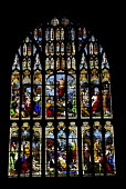 Stained glass window in Norwich Cathedral - Stefano Cagnoni - 19-02-2003