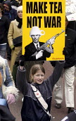 Protestors against war in Iraq march through London - Stefano Cagnoni - 2000s,2003,activist,activists,adolescence,adolescent,adolescents,against,anti war,Antiwar,CAMPAIGN,campaigner,campaigners,CAMPAIGNING,CAMPAIGNS,child,CHILDHOOD,children,DEMONSTRATING,DEMONSTRATION,DEM