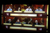 Team of trades union Gen Sec's making an appearance on University Challenge against a team from the Cabinet Office - Stefano Cagnoni - 07-04-2003