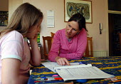 Qualified teacher giving private lessons to a girl at home, London - Stefano Cagnoni - 04-05-2005