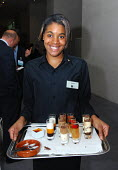 Waitress at function with desserts - Stefano Cagnoni - 15-10-2007