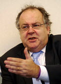 Lord Falconer, in charge at the Department of Constitutional Affairs, prior to the establishment of the MInistry of Justice on May 9, 2007 - Stefano Cagnoni - 03-04-2007