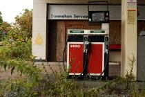 Closed ESSO petrol station on a main road in Douglas in County Cork in the Republic of Ireland - Stefano Cagnoni - 09-08-2008
