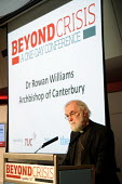 Dr Rowan Williams, Archbishop of Canterbury, making the keynote speech at a TUC Conference on the economic recession entitled: Beyond Crisis. - Stefano Cagnoni - ,2000s,2009,christian,christianity,christians,Church of England,Conference,conferences,DOWNTURN,EBF economy business & finance Protest,making,member,member members,members,monotheistic,people,PROTEST,