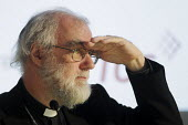 Dr Rowan Williams, Archbishop of Canterbury, at a TUC Conference on the economic recession entitled: Beyond Crisis. - Stefano Cagnoni - 16-11-2009