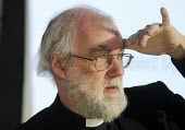 Dr Rowan Williams, Archbishop of Canterbury, making at a TUC Conference on the economic recession entitled: Beyond Crisis. - Stefano Cagnoni - 16-11-2009