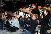 News Photographers at work at the 2010 Trades Union Congress in Manchester. - Stefano Cagnoni - 13-09-2010